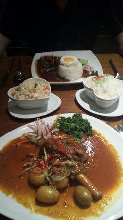 Carabao Thai Restaurant and Steak House: Lovely food