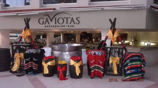 Gran Caribe Resort: Gaviotas - great b'fast and lunch!