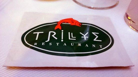 Trilye Restaurant : The logo