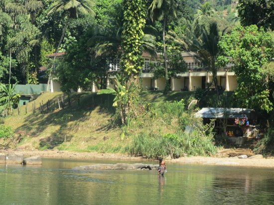 Kithulgala Rest House: View of Hotel from River