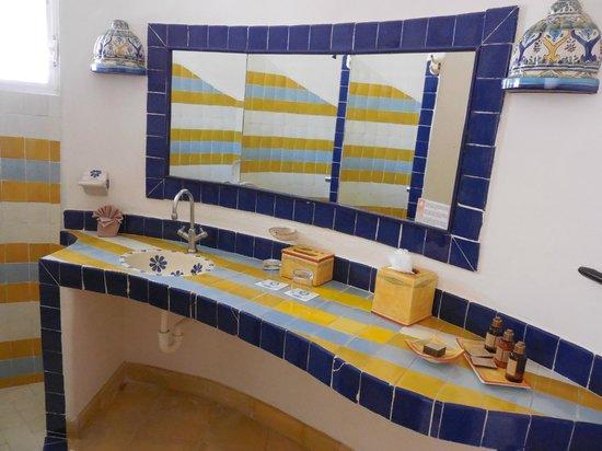 Las Ranitas Eco-boutique Hotel: Salle de bain chambre 6