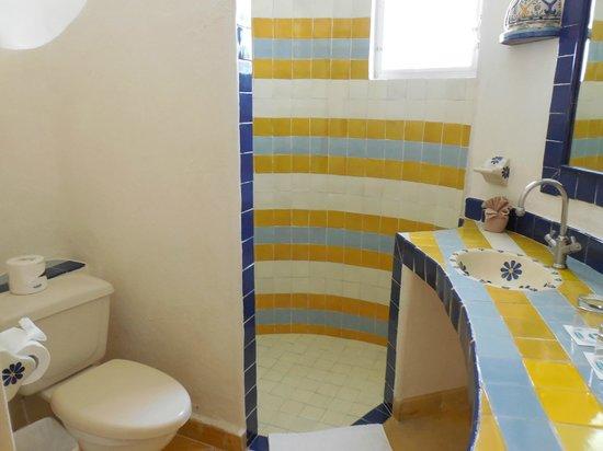 Las Ranitas Eco-boutique Hotel: Salle de bains 2 chambre 6