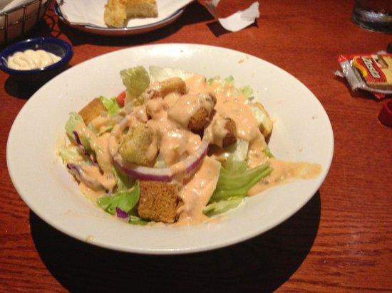 Red Lobster: insalata con dressing