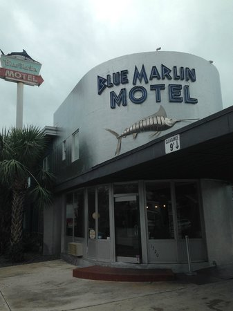 Blue Marlin Motel: Outside