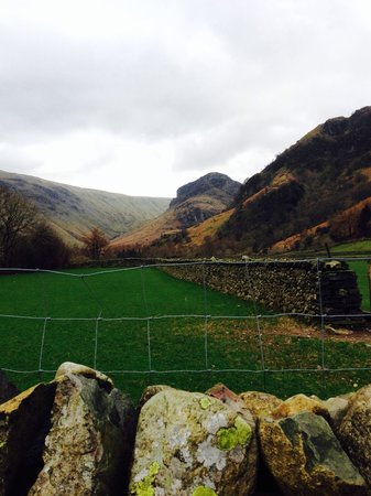 The Langstrath Country Inn: Up the valley