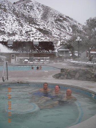 1862 David Walley's Hot Springs Resort and Spa: Mineral water soak