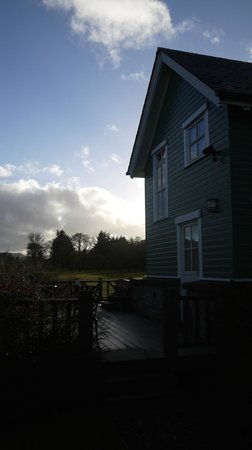Highland Heather Lodges: A view of the Earn Lodge....