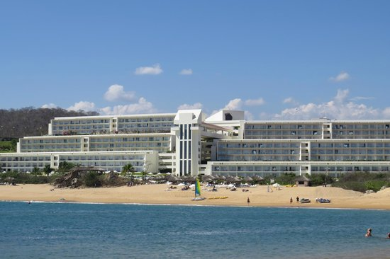 Secrets Huatulco Resort & Spa: View from what we call