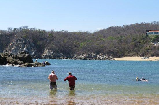 "Secrets Huatulco Resort & Spa: What we called ""Snorkel Cove"""