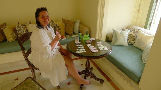 Taj Lake Palace Udaipur : Kleines Wohnzimmer