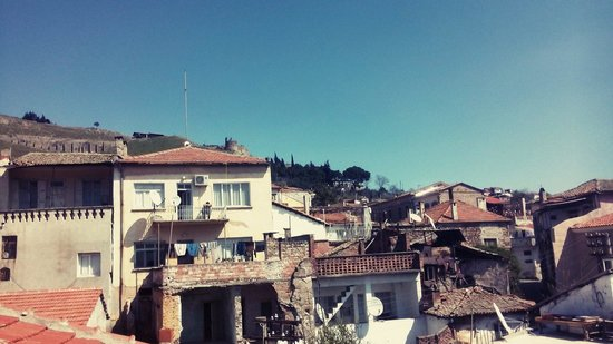 Odyssey Guesthouse: View from the terrace