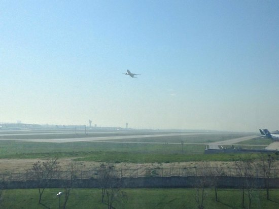 Radisson Blu Conference & Airport Hotel: Вид из окна