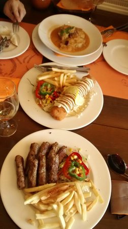 Pasko's Balkan Grill : Balkan Sarma, Karadjordjeva Snicla and Cevapcici - for the hungry!! :)