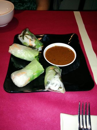 Un Capítol de Viêtnam: Rollitos vegetarianos. Riquísimos! ;-)