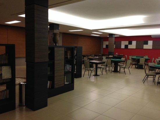 Recanto Cataratas Thermas Resort & Convention: Sala de leitura e jogos de mesa (tabuleiro)