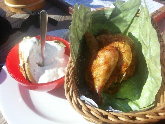 El Paradiso : pollo al cestello
