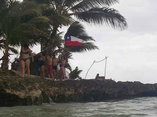 Rocky Cay : Islote