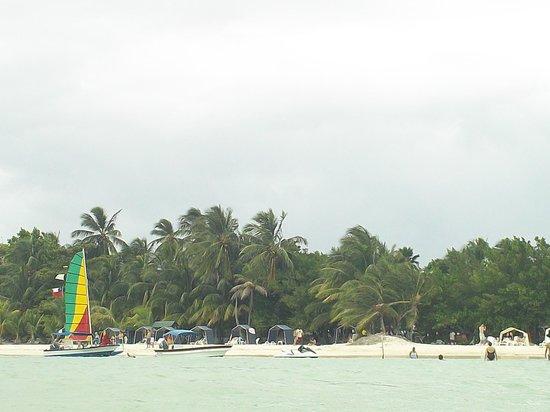Rocky Cay : Playa