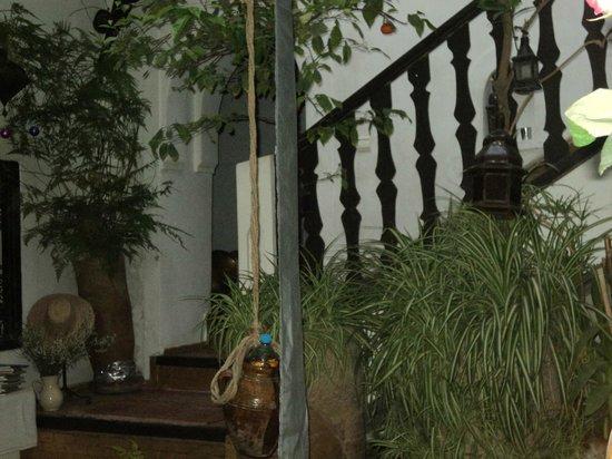 Riad Diarna: Escalier et entrée
