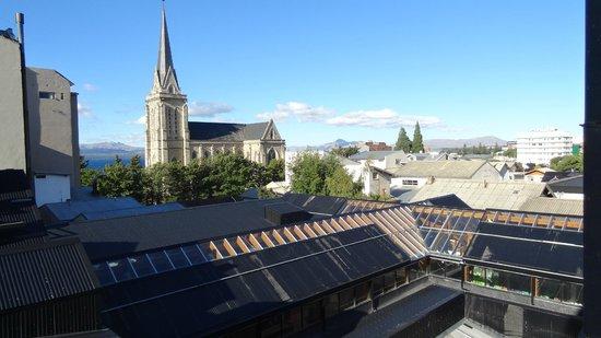Grand Hotel Bariloche: vista desde la ventana de la hab