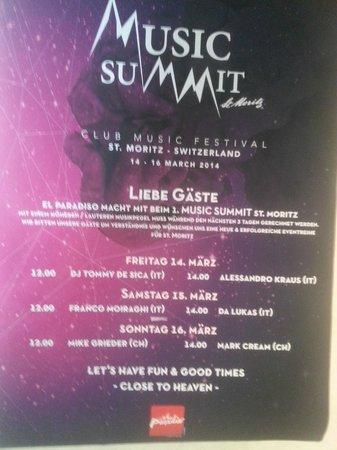 El Paradiso : music summit 2014