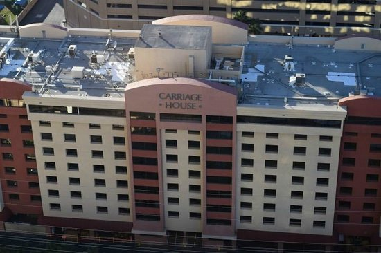 Signature at MGM Grand : View from Balcony