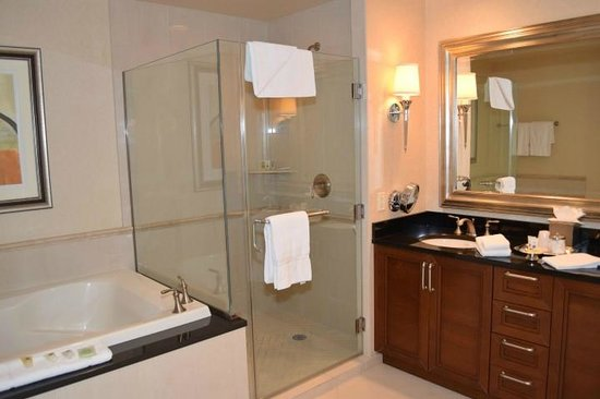 Signature at MGM Grand : Full size shower