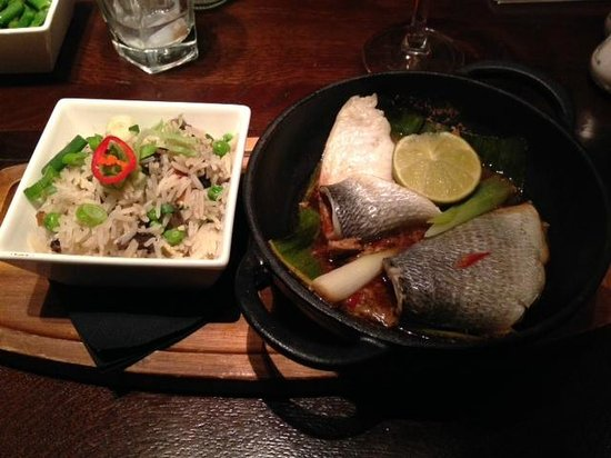 The Alchemist: Yummy sea bream - so fresh tasting!