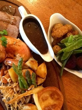 The Castle Inn: sunday roast