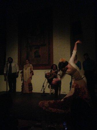 El Tablao de Carmen : Very beautiful dance show