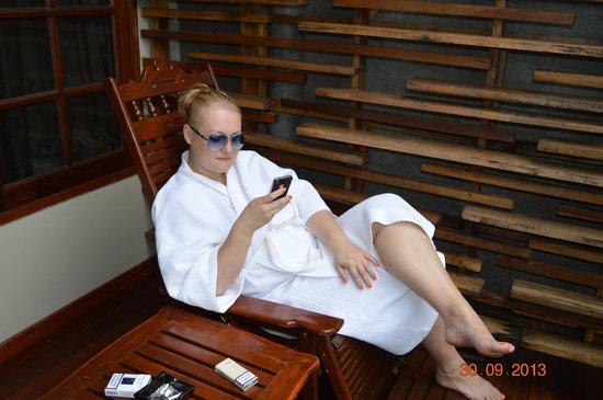 Marina Phuket Resort : На террасе - 2