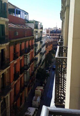 Hostal Abadia Madrid : Zimmer-Ausblick