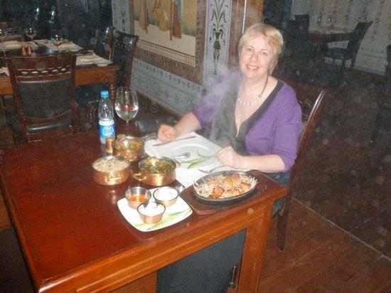 Bombay : Sizzling hot Yum!