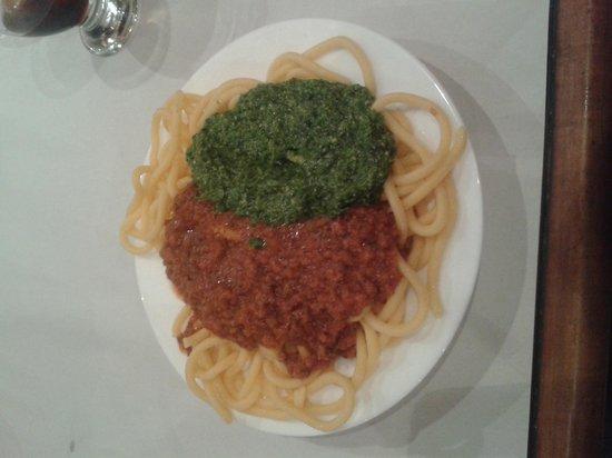 Pippo : Vermicelli Tuco y Pesto