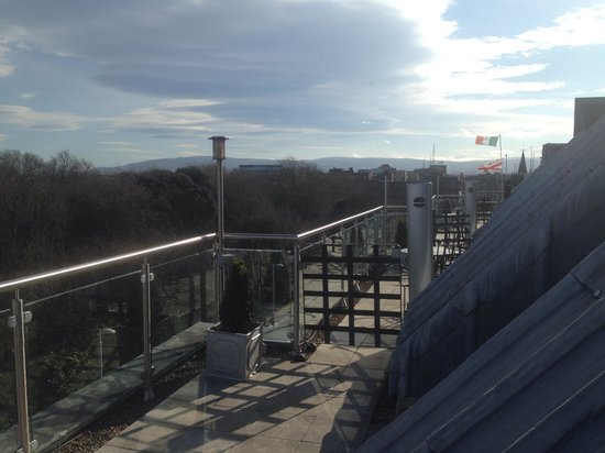 Fitzwilliam Hotel Dublin: Roof terrace