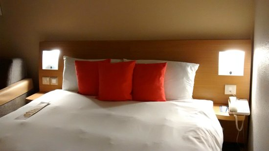 Novotel London Waterloo: Bed