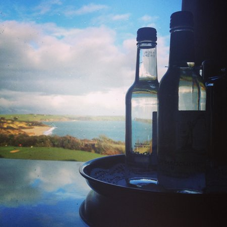 The Carlyon Bay : A room with a view.
