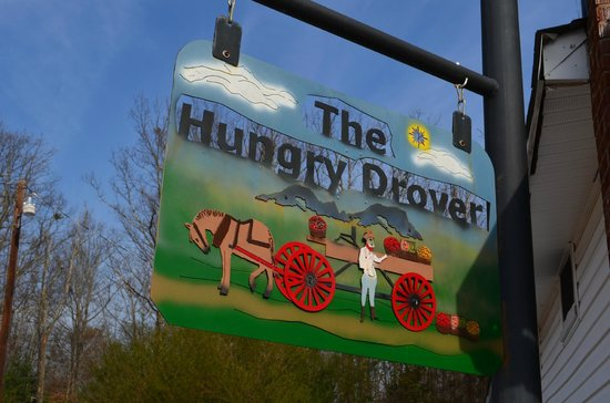Hungry Drover: restaurant sign