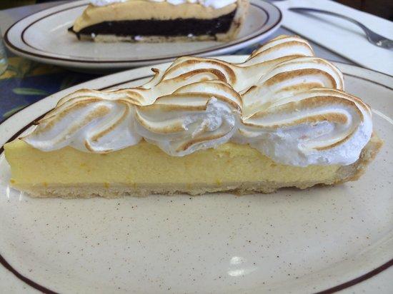 Chez Sabine: Meyer lemon cream pie