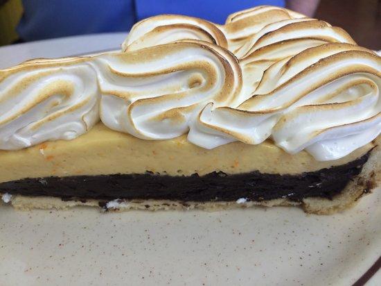 Chez Sabine: Orange and chocolate cream pie