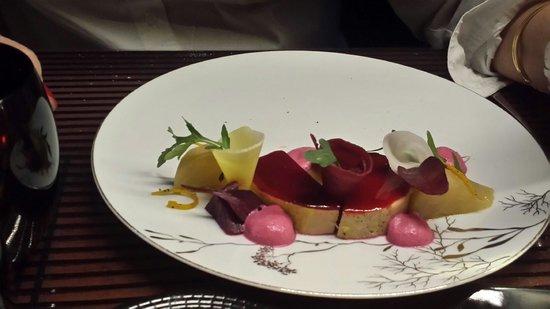 L'Acajou: Le foie gras