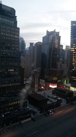 Distrikt Hotel New York City: view from top floor room