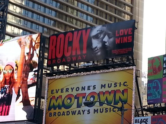 Winter Garden Theatre: Rocky on Broadway