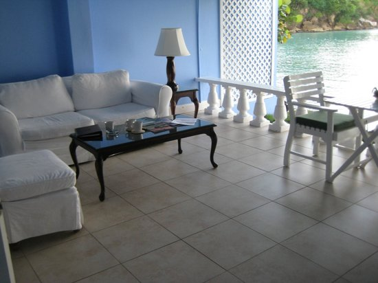 Jamaica Inn: Terrace
