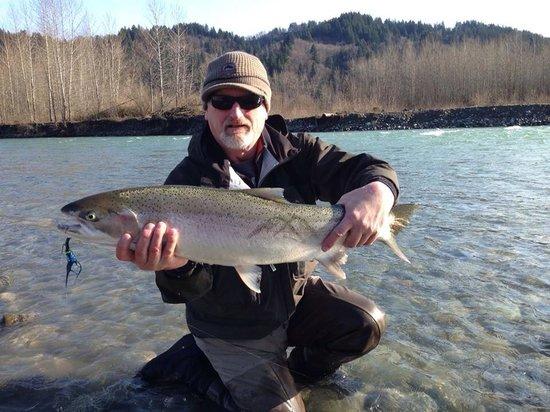 spey fly fishing steelhead - picture of clear creek fishing, Fly Fishing Bait