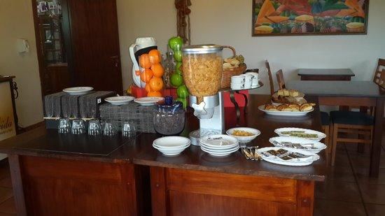 La Guarida Hotel: Desayuno