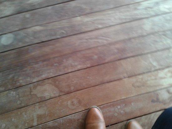 Agora Spa & Resort: Suelo balcón