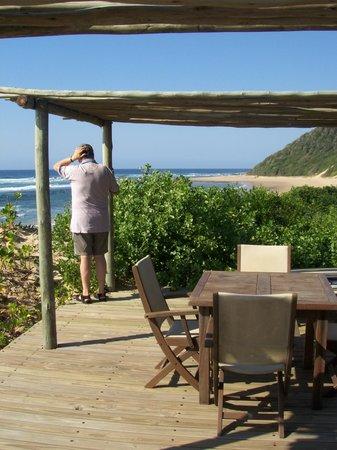 Thonga Beach Lodge: Relaxing