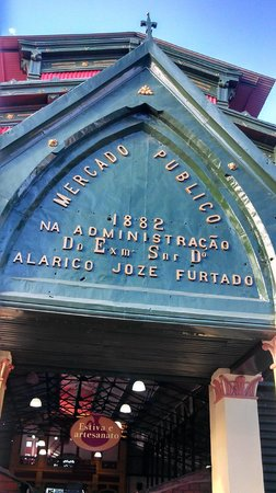 Adolpho Lisboa Municipal Market: Entrada