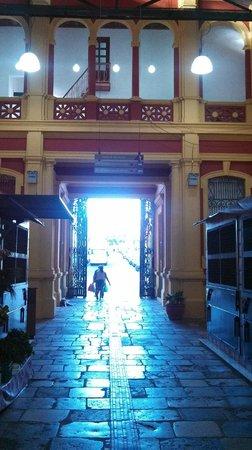 Adolpho Lisboa Municipal Market: Parte interna